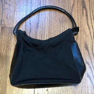 Black Gucci shoulder bag